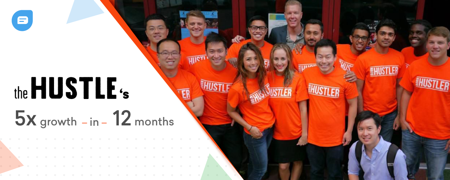 How The Hustle grew by 5x in 12 months to reach 550,000+ subscribers - Freshchat Blog